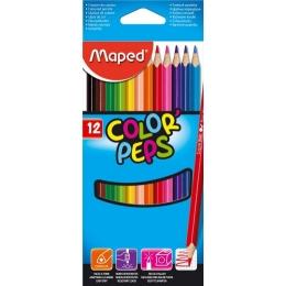 Värvipliiatsid ColorPeps 12 värvi
