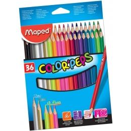 Värvipliiatsid ColorPeps 36 värvi