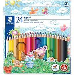 Värvipliiatsid Staedtler Noris 24 värvi