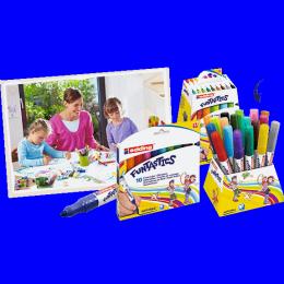 Viltpliiatsid Funtastics 18 värvi paks*
