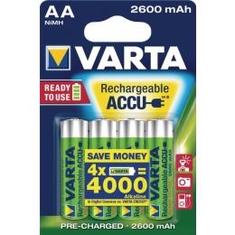 Aku AA 2600mAh Varta  Professional 4tk
