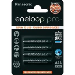 Aku AAA 930mAh Eneloop Pro 4tk/pakis