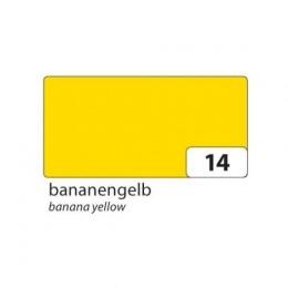 Kartong 50x70cm 300g banaanikollane