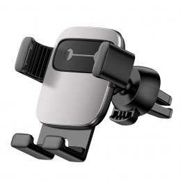 Autohoidik Baseus Cube Gravity Silver ventilatsiooniavasse