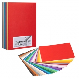 Värviline paber A4/130g 500L 20Lx25värvi