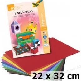 Värviline kartong 22x32cm/300g/10L mix