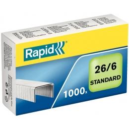 Klambrid Rapid 26/6 1000tk/pk