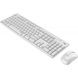 Klaviatuur +Hiir Logitech MK295 Silent, US, valge