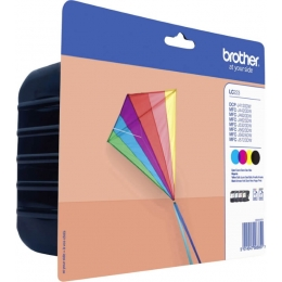 Tint Brother LC223 C M Y BK multipack