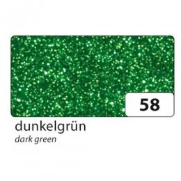 Glitter vahtkumm 20x29cm liimuv 5L rohe*