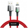 Kaabel  Zinc Magnetic iPhone red Baseus