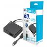 Sülearvuti laadija 60W Fortron USB-C