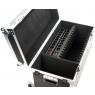 Laadimiskohver kuni 10-le tahvelarvutile koos 220V pesadega